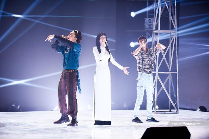 Lynk Lee diện áo dài đẹp mê mẩn, Dablo - Linh Thộn khiến fan bấn loạn với OST Mắt Biếc phiên bản Rap Ảnh 2