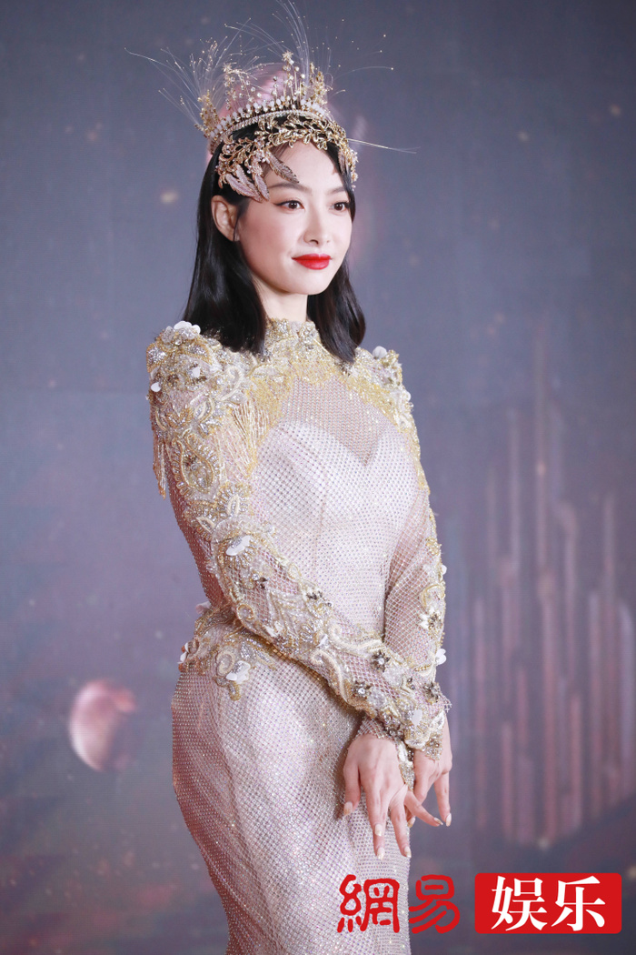 'Kim Ưng 2020': Tống Thiến trở thành nữ thần, Quan Hiểu Đồng kém sắc, Đàm Tùng Vận rạng rỡ bên Tống Uy Long Ảnh 57