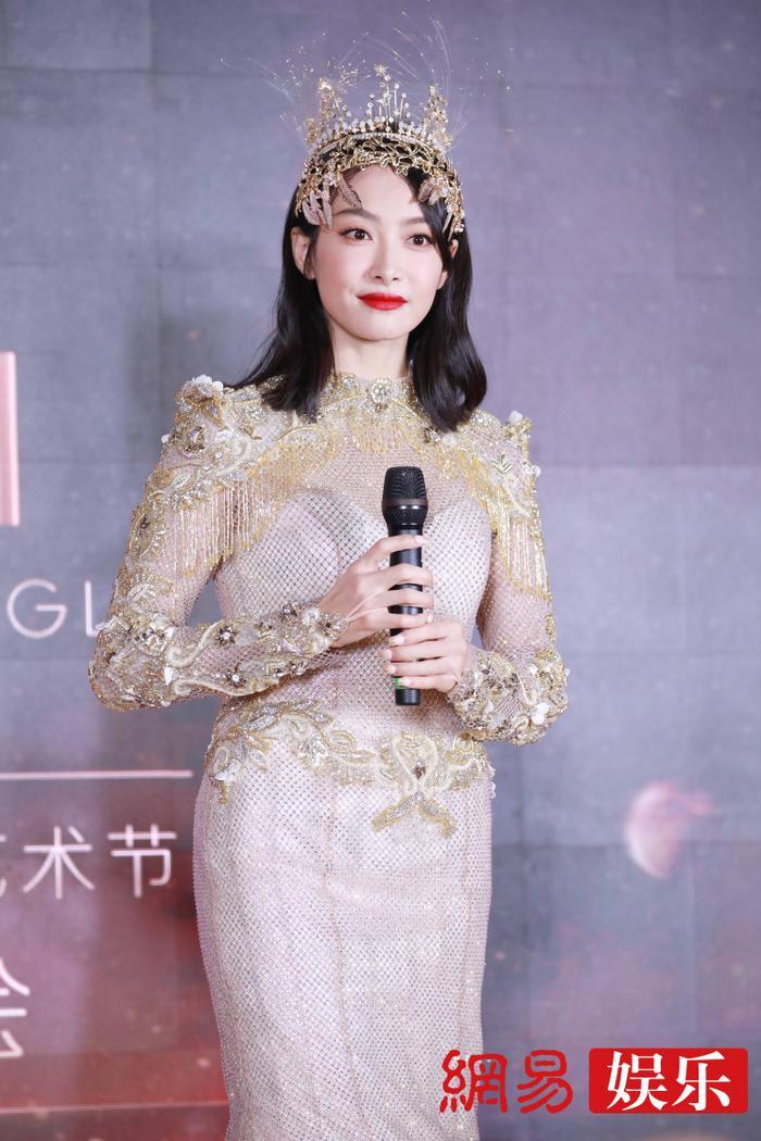 'Kim Ưng 2020': Tống Thiến trở thành nữ thần, Quan Hiểu Đồng kém sắc, Đàm Tùng Vận rạng rỡ bên Tống Uy Long Ảnh 51