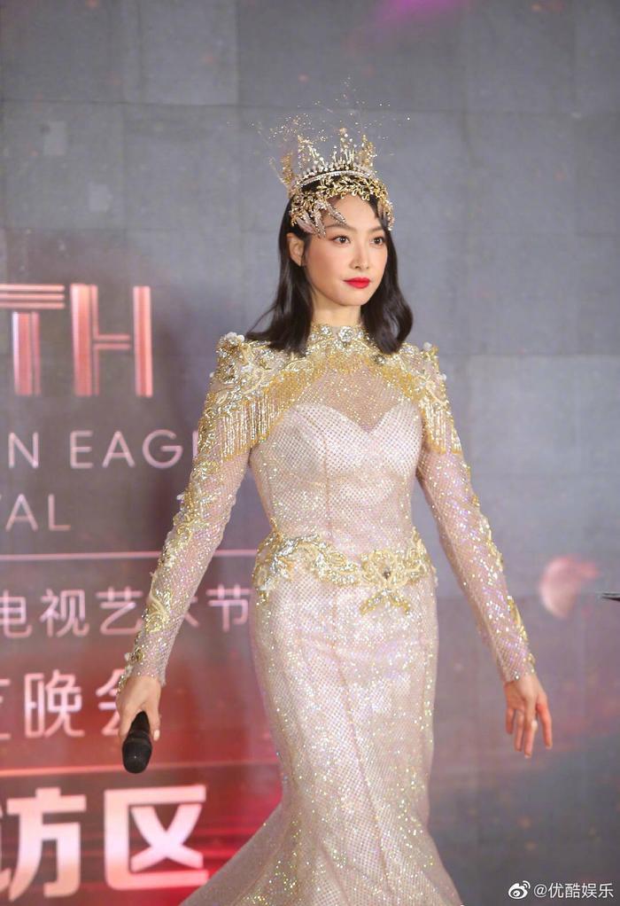 'Kim Ưng 2020': Tống Thiến trở thành nữ thần, Quan Hiểu Đồng kém sắc, Đàm Tùng Vận rạng rỡ bên Tống Uy Long Ảnh 41