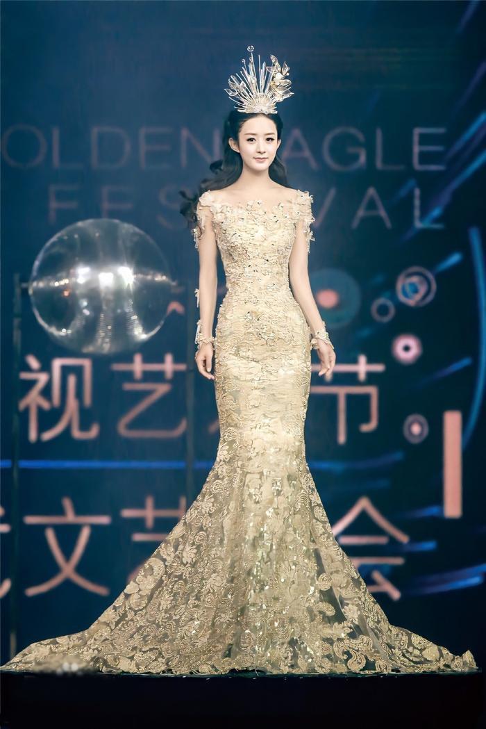 Tống Thiến bị chê là 'Nữ thần Kim Ưng' xấu nhất lịch sử vì chiếc váy thảm họa: Lép vế Triệu Lệ Dĩnh và Địch Lệ Nhiệt Ba! Ảnh 20