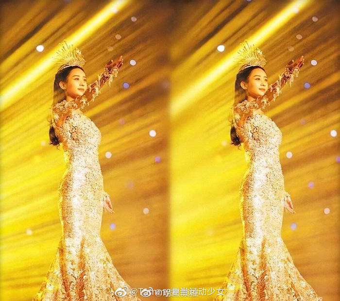 Tống Thiến bị chê là 'Nữ thần Kim Ưng' xấu nhất lịch sử vì chiếc váy thảm họa: Lép vế Triệu Lệ Dĩnh và Địch Lệ Nhiệt Ba! Ảnh 19