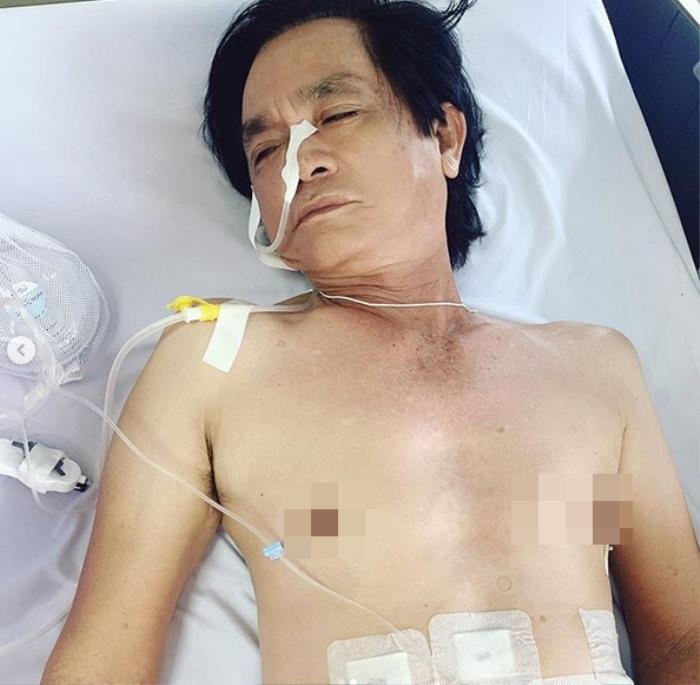 Bố đẻ Ngọc Trinh nằm viện để thực hiện ca mổ: 'Tạ ơn chúa, Bảy Tòng của mình ổn rồi' Ảnh 3