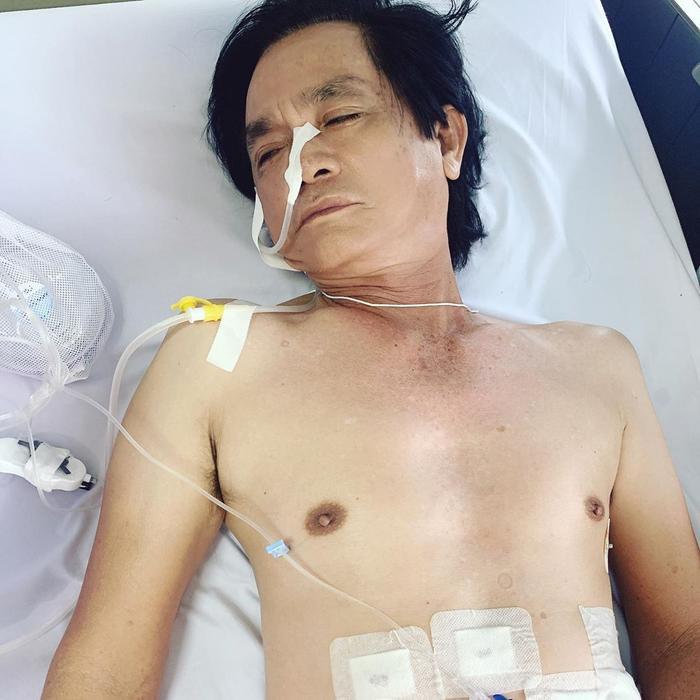 Ngọc Trinh túc trực liên tục 2 ngày trong bệnh viện để chăm sóc ba ruột Ảnh 1