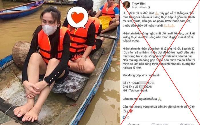 Thông tin kêu gọi sơ tán do ngập lụt cả chục mét trên Facebook là tin giả Ảnh 3