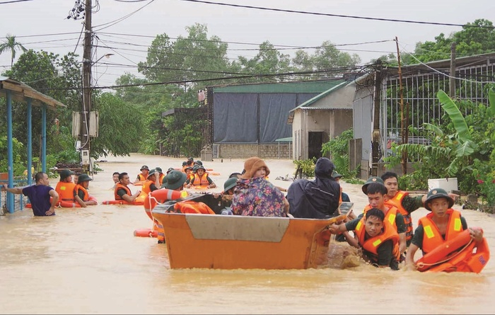 Thông tin kêu gọi sơ tán do ngập lụt cả chục mét trên Facebook là tin giả Ảnh 2