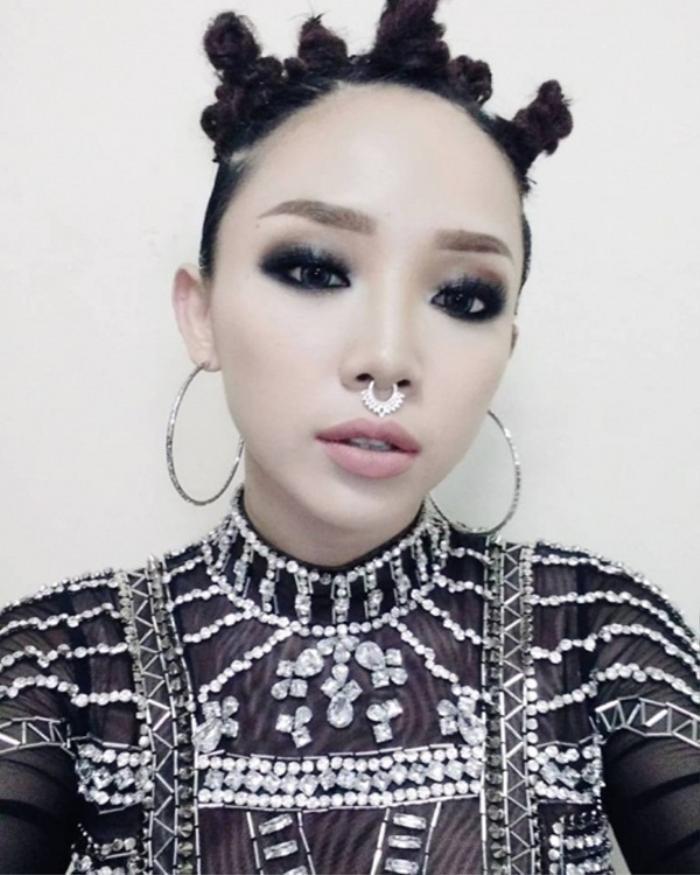 Những kiểu tóc bá đạo của sao Việt: Pha 'tấu hài' thú vị nhất thuộc về Lan Khuê Ảnh 3