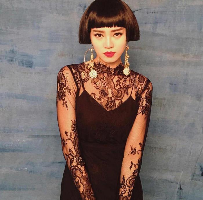 Những kiểu tóc bá đạo của sao Việt: Pha 'tấu hài' thú vị nhất thuộc về Lan Khuê Ảnh 19