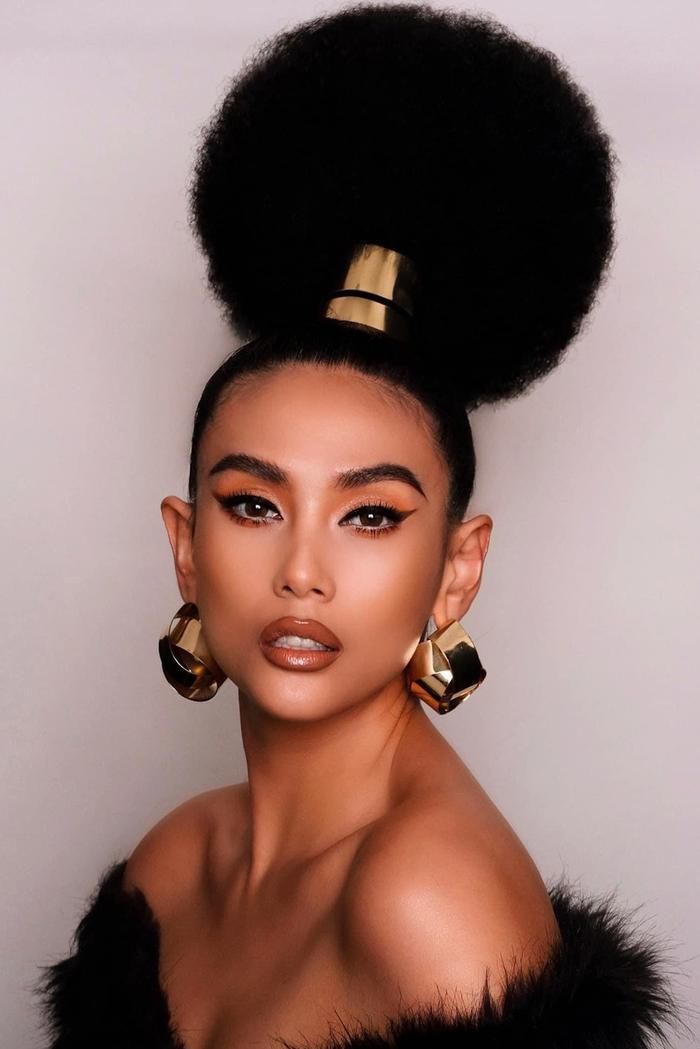 Những kiểu tóc bá đạo của sao Việt: Pha 'tấu hài' thú vị nhất thuộc về Lan Khuê Ảnh 10