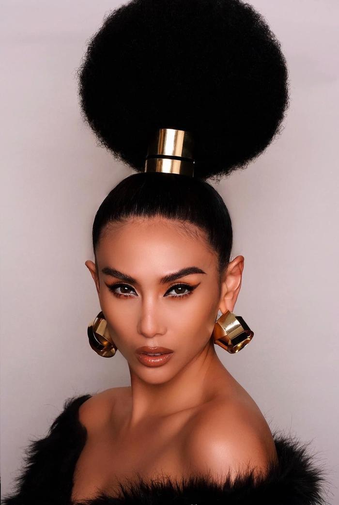 Những kiểu tóc bá đạo của sao Việt: Pha 'tấu hài' thú vị nhất thuộc về Lan Khuê Ảnh 9