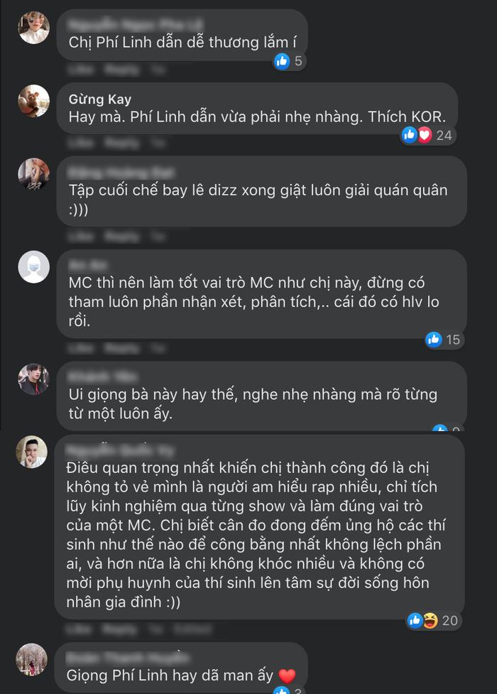 Dấu ấn Phí Linh tại King Of Rap: Thời thượng, am hiểu về Underground, hết lòng vì thí sinh Ảnh 2