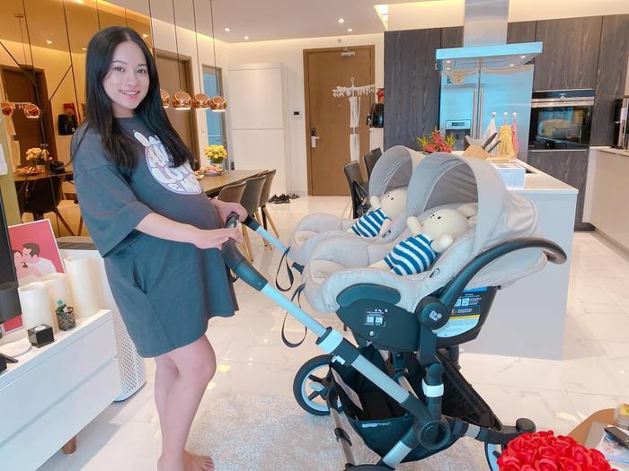 Sara Lưu lộ vóc dáng sau khi sinh 2 con trai cho nhạc sĩ Dương Khắc Linh Ảnh 4