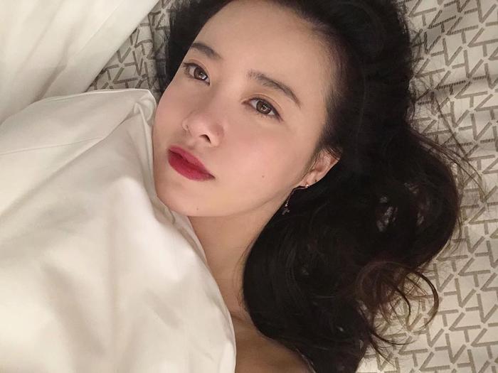 Goo Hye Sun đăng ảnh giường chiếu, Knet cho là đang 'gợi tình' Ảnh 2