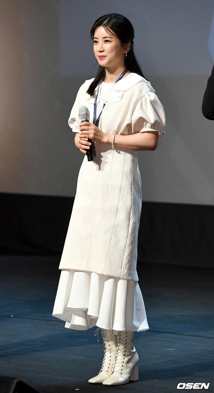 Goo Hye Sun rạng rỡ sau ly hôn, đọ sắc loạt sao Hàn trên thảm đỏ 'LHP Bucheon 2020' Ảnh 17