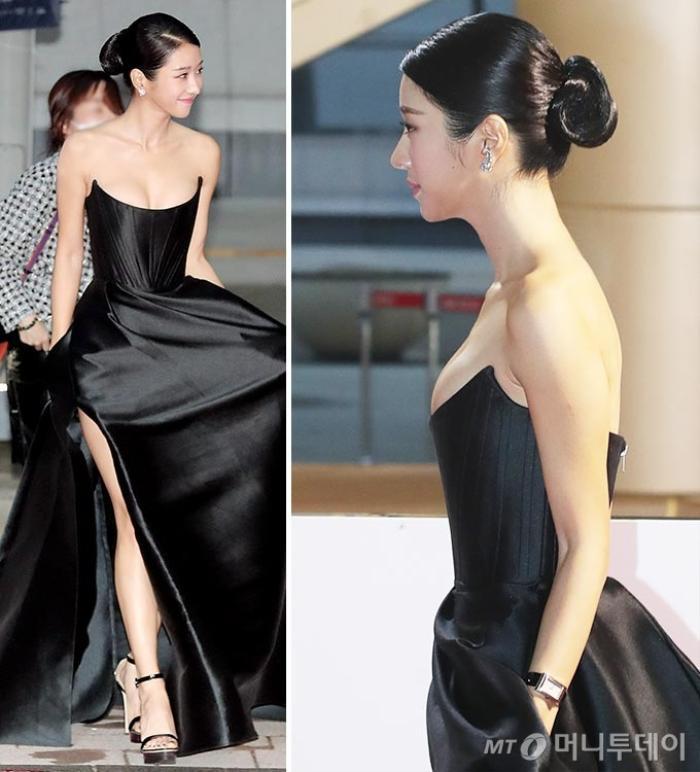 Sang chảnh diện đồ 1 tỷ 3, Seo Ye Ji vẫn 'hớ hênh' lộ ngực trên thảm đỏ Ảnh 2