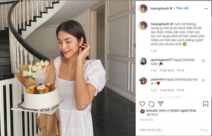 Tăng Thanh Hà mừng sinh nhật tuổi 34: Nhan sắc trẻ trung khiến hội chị em ghen tị Ảnh 3