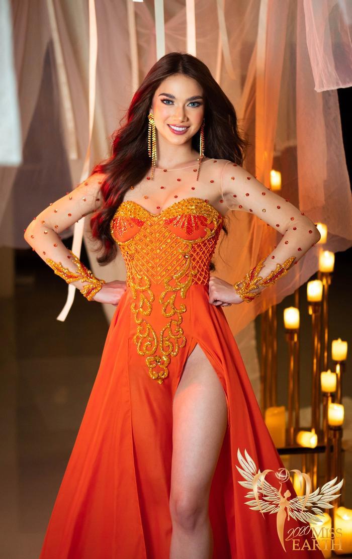 Dàn mỹ nhân Miss Earth trình diễn váy dạ hội: Hoa Thái nổi bật với Evening Gown Địa cầu lấp lánh Ảnh 8