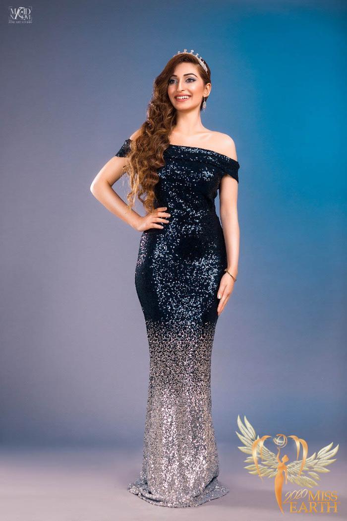 Dàn mỹ nhân Miss Earth trình diễn váy dạ hội: Hoa Thái nổi bật với Evening Gown Địa cầu lấp lánh Ảnh 21