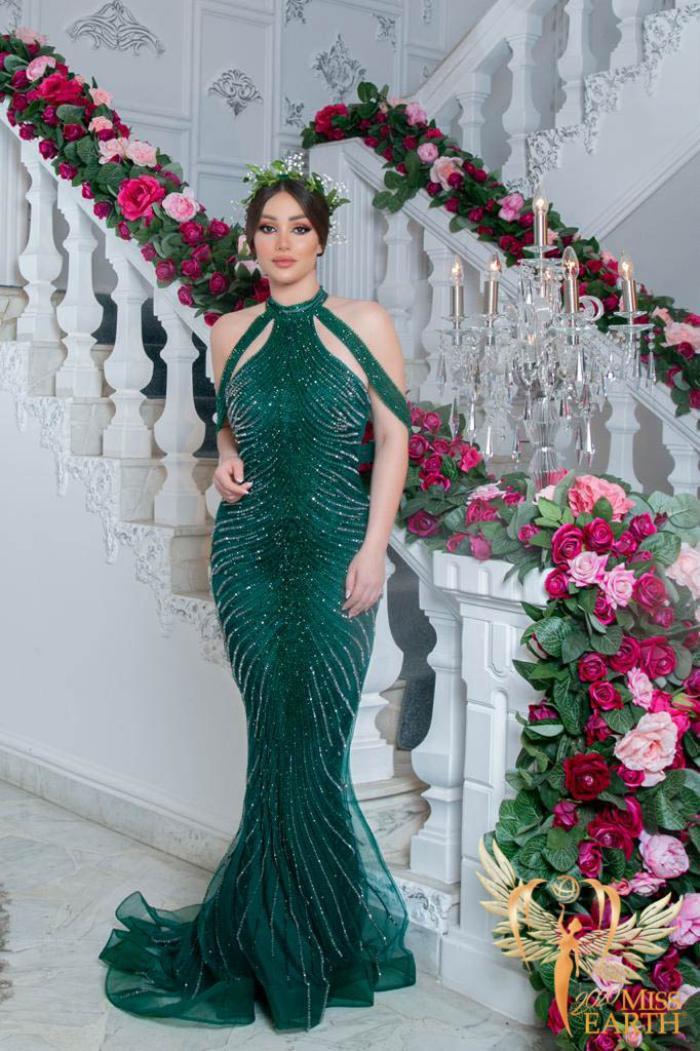 Dàn mỹ nhân Miss Earth trình diễn váy dạ hội: Hoa Thái nổi bật với Evening Gown Địa cầu lấp lánh Ảnh 23