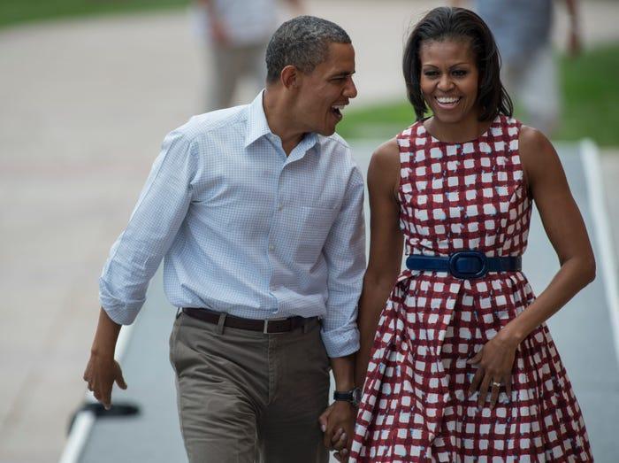 13 lần hiếm hoi các đệ nhất phu nhân Mỹ mặc quần áo bình dân Ảnh 4
