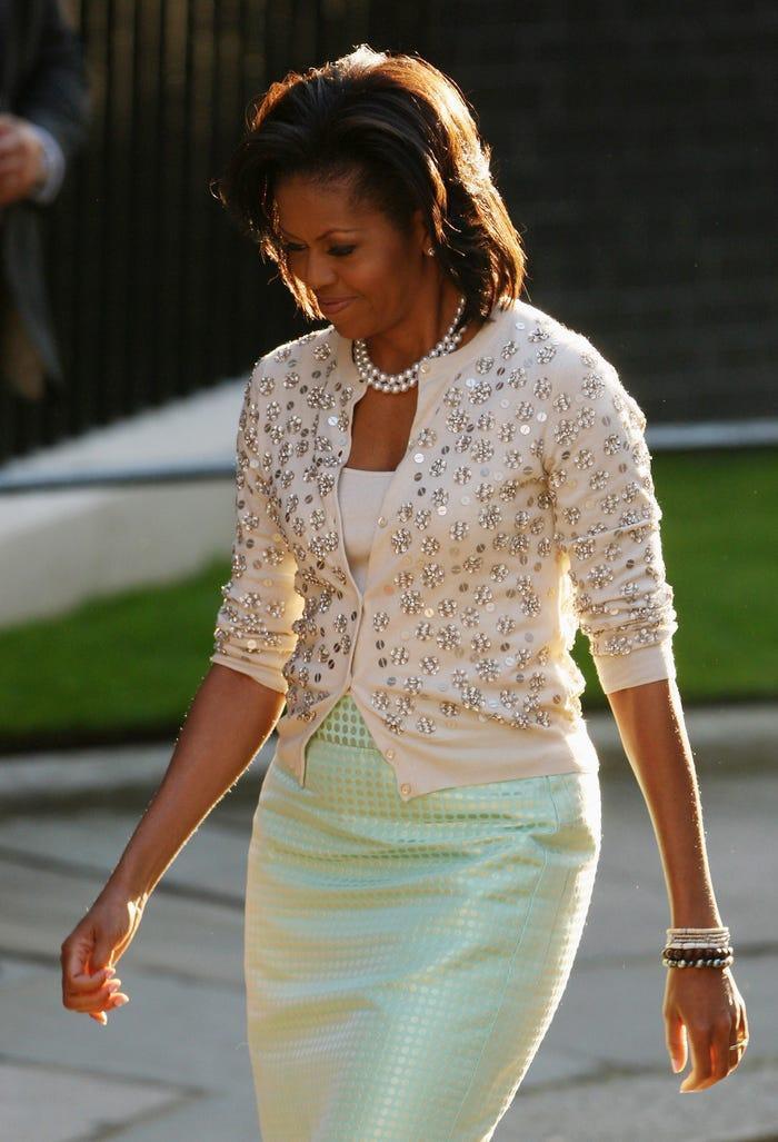 13 lần hiếm hoi các đệ nhất phu nhân Mỹ mặc quần áo bình dân Ảnh 8