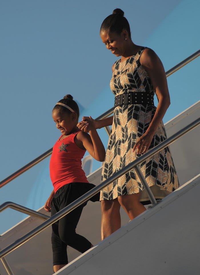 13 lần hiếm hoi các đệ nhất phu nhân Mỹ mặc quần áo bình dân Ảnh 7