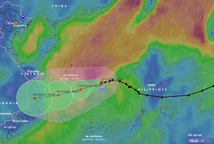 Bão số 10 hướng vào Quảng Ngãi – Khánh Hòa, Biển Đông có thể đón bão số 11 Ảnh 2