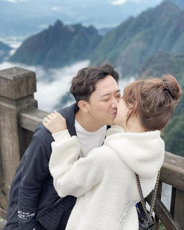 Những lần Trấn Thành làm dân mạng đảo điên vì loạt ảnh tình tứ với Hari Won Ảnh 17