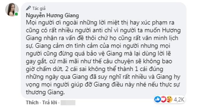 Hương Giang công nhận anti-fan văn minh giúp nghệ sĩ thức tỉnh, mong muốn chấm dứt tranh cãi Ảnh 2
