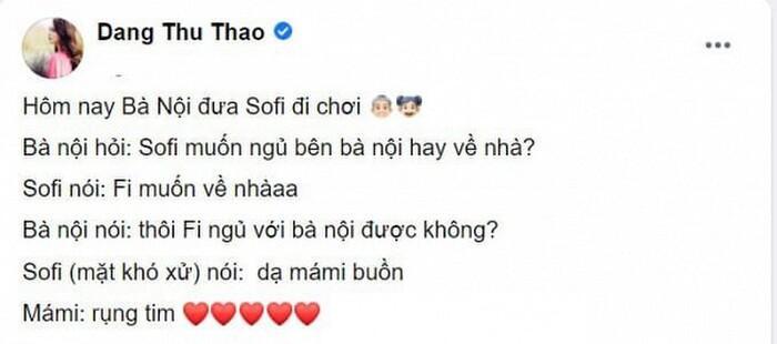 Con gái Hoa hậu Thu Thảo khiến mẹ 'cạn lời' khi 2 tuổi đã ăn nói đâu ra đấy Ảnh 3