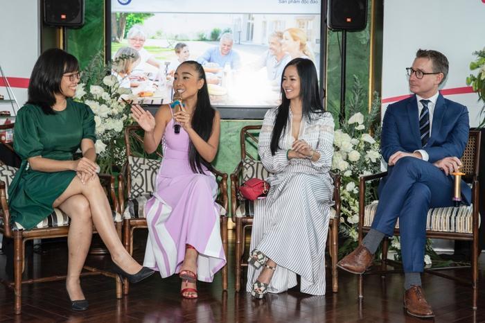 Đoan Trang mời hội chị em Hồng Nhung, Hà Anh dự tiệc trà chiều, bật mí bí kíp sống khỏe Ảnh 10