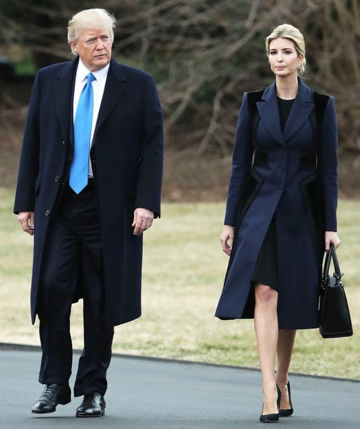 Thời trang của ái nữ Donald Trump 'lấn át' con gái Tổng thống Joe Biden Ảnh 1