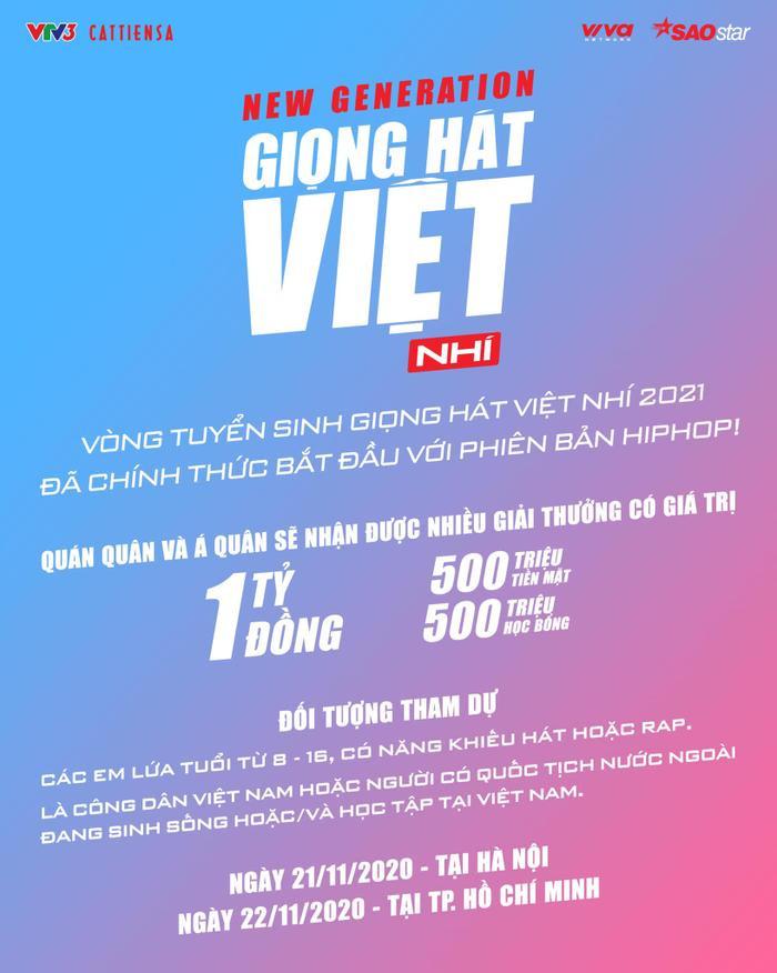 Giải đáp mọi thắc mắc về Giọng hát Việt nhí 2021 phiên bản mới: New Generation Ảnh 5
