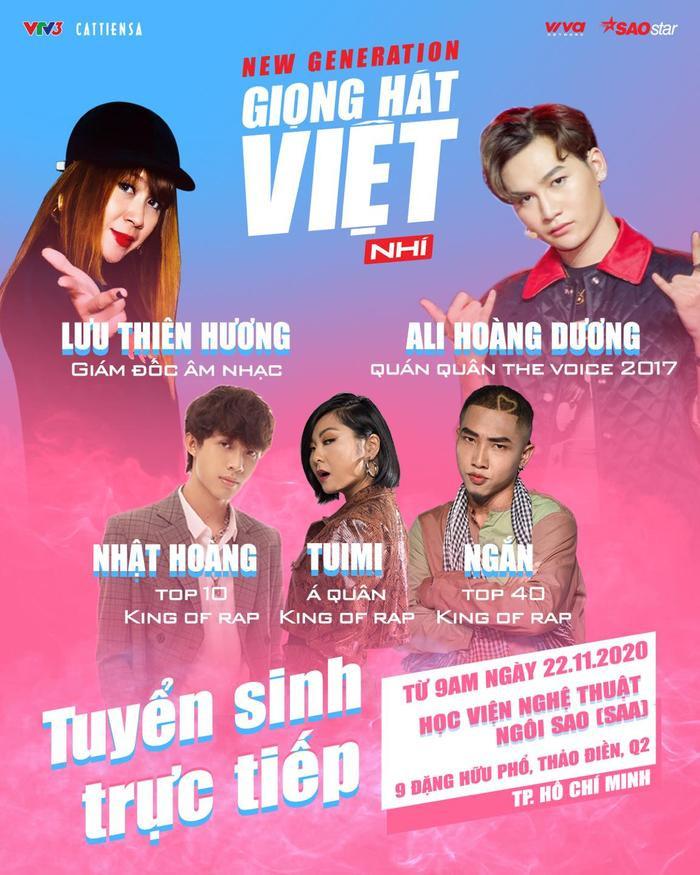 Giải đáp mọi thắc mắc về Giọng hát Việt nhí 2021 phiên bản mới: New Generation Ảnh 2
