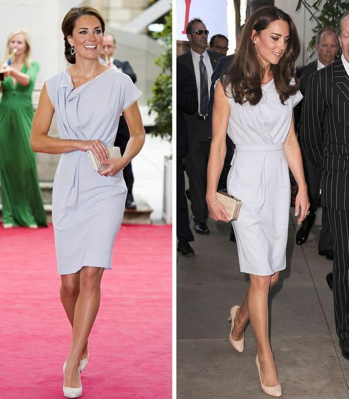 Bí quyết mặc lại váy áo cũ mà không gây nhàm chán của Kate Middleton Ảnh 4