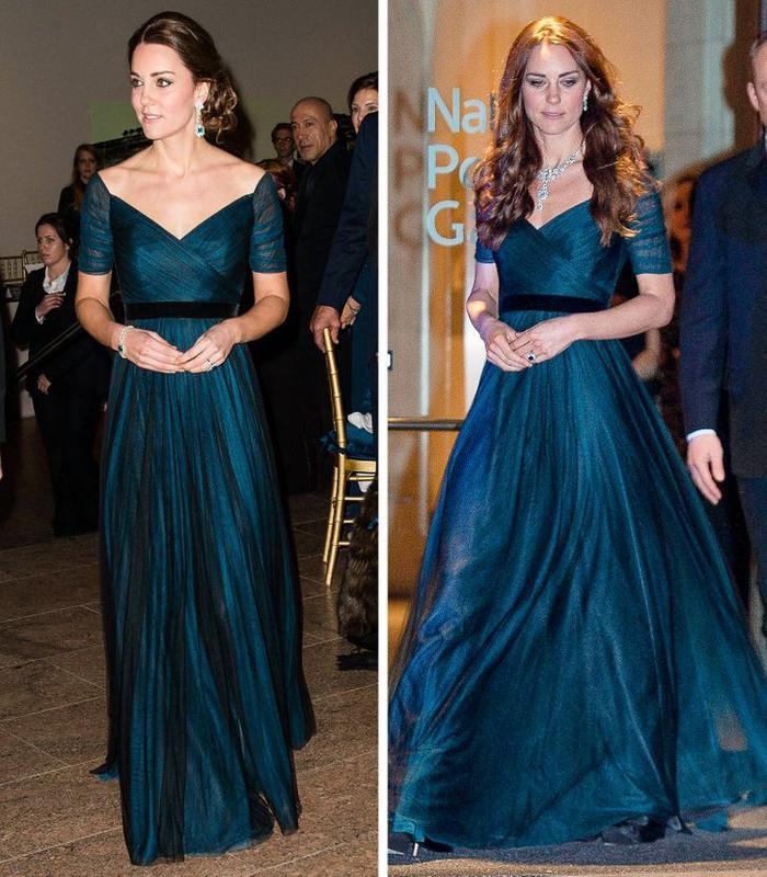 Bí quyết mặc lại váy áo cũ mà không gây nhàm chán của Kate Middleton Ảnh 3
