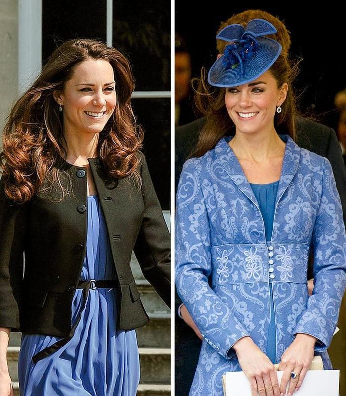 Bí quyết mặc lại váy áo cũ mà không gây nhàm chán của Kate Middleton Ảnh 2