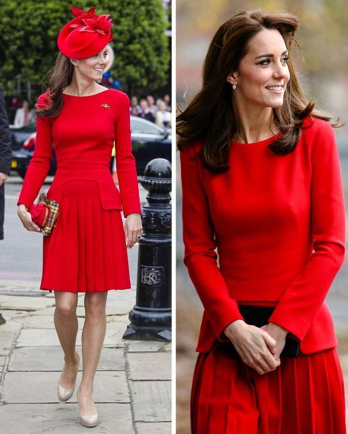 Bí quyết mặc lại váy áo cũ mà không gây nhàm chán của Kate Middleton Ảnh 12