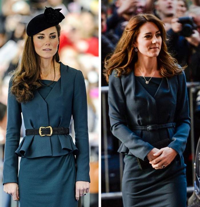 Bí quyết mặc lại váy áo cũ mà không gây nhàm chán của Kate Middleton Ảnh 10
