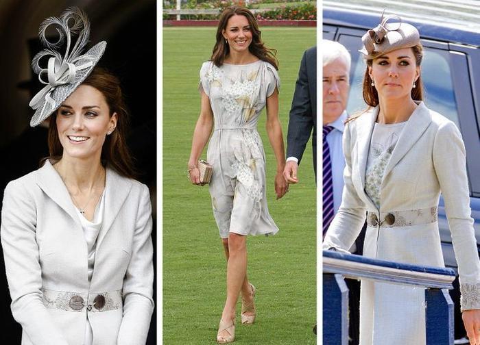 Bí quyết mặc lại váy áo cũ mà không gây nhàm chán của Kate Middleton Ảnh 5