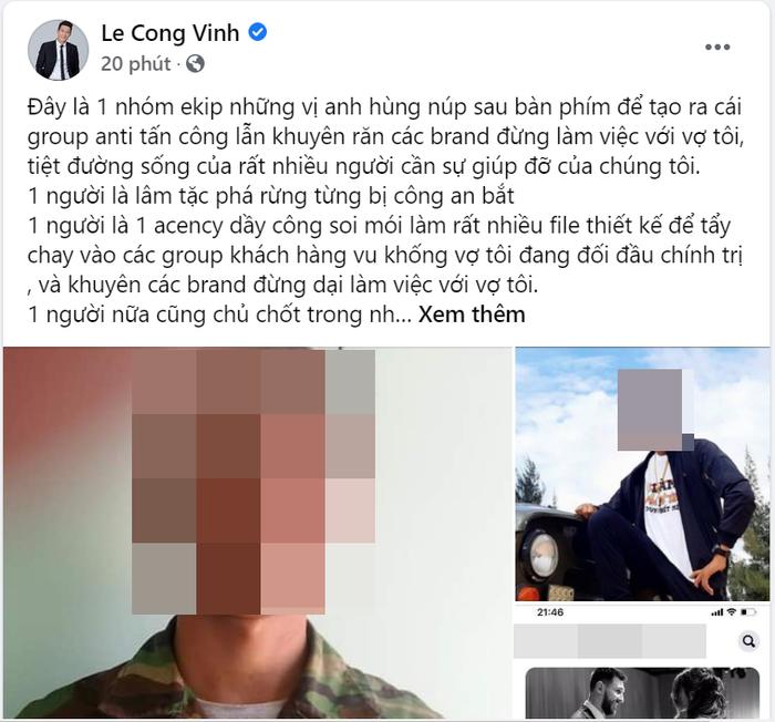 Công Vinh công khai danh tính kẻ đứng sau group tấn công Thủy Tiên, khẳng định nhờ pháp luật can thiệp Ảnh 2