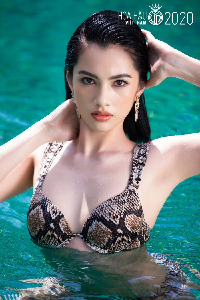 Cô gái có 'gương mặt đẹp nhất Hoa hậu Việt Nam 2020' giảm 10kg trong vòng 1 tháng để đi thi hoa hậu Ảnh 1