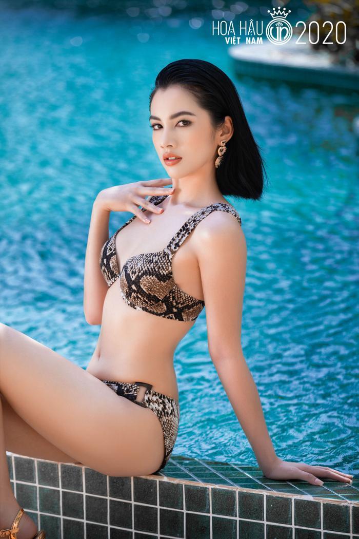 Cô gái có 'gương mặt đẹp nhất Hoa hậu Việt Nam 2020' giảm 10kg trong vòng 1 tháng để đi thi hoa hậu Ảnh 2