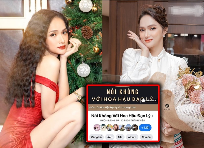 Group anti-fan mới của Hương Giang đạt hơn 125k thành viên Ảnh 1