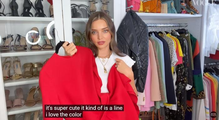 Thiên thần Miranda Kerr lần đầu tiết lộ tủ đồ và những món thời trang ruột Ảnh 11