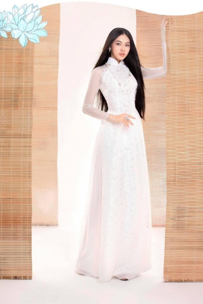 Ngắm nhan sắc xinh đẹp, ngọt ngào của Á hậu 2 'Hoa hậu Việt Nam 2020' Nguyễn Lê Ngọc Thảo Ảnh 18