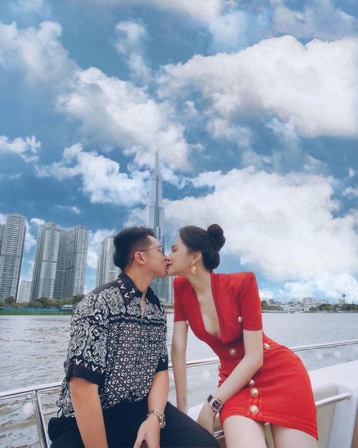 Hậu lùm xùm bị tẩy chay, Matt Liu gây chú ý với hành động kỷ niệm 5 tháng quen Hương Giang Ảnh 5