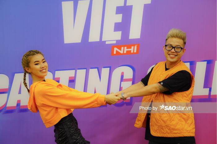 'Cơ trưởng' Pháo hội ngộ RichChoi, cùng Yến Lê casting thí sinh Giọng hát Việt nhí 2021 Ảnh 3