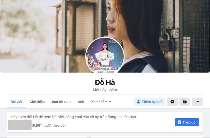 Sau khi đăng quang, Hoa Hậu Việt Nam 2020 Đỗ Thị Hà có thêm hàng chục ngàn người theo dõi trên MXH Ảnh 3