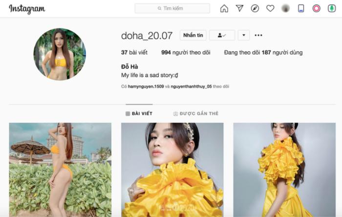 Sau khi đăng quang, Hoa Hậu Việt Nam 2020 Đỗ Thị Hà có thêm hàng chục ngàn người theo dõi trên MXH Ảnh 5
